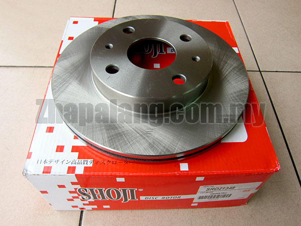 Shoji Japan Disc Rotor Perodua Myvi 1.5 Front