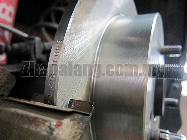 Shoji Japan Disc Rotor Honda Civic Rear
