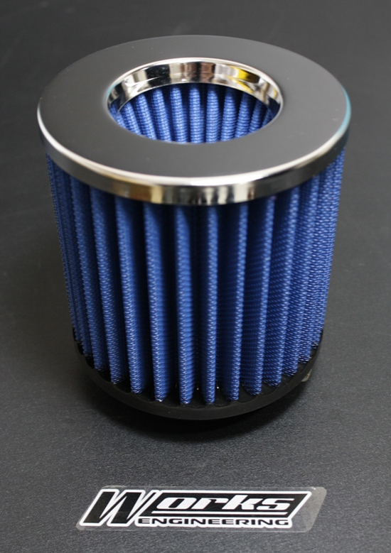 Works Engineering Replacement Filter BMW E90/320 L4(ROUND TYPE)