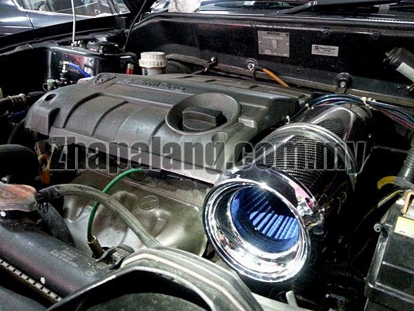 Simota Carbon Charger Intake System II Proton Saga BLM/Persona