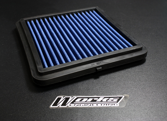 Works Engineering Replacement Filter Kia CERATO FORTE 1.6/2.0L L4 F/I '10-ON