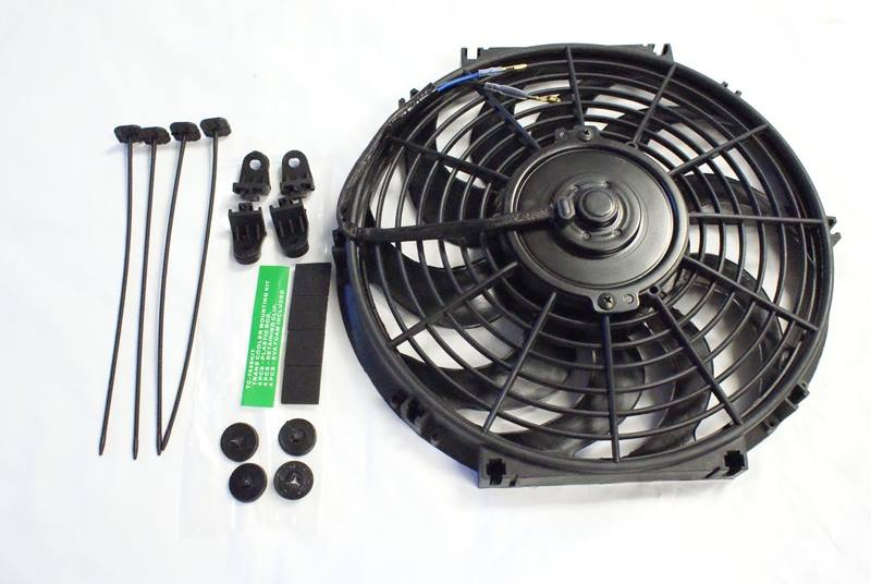 Revoluzion High Powered Fan 14 Inch 120 Watts (CFM 2,120) (Straight Blade)