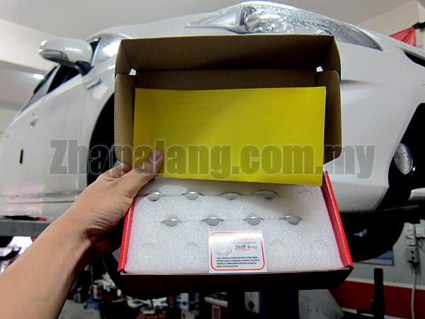 Stiff Ring Lexus CT200H [ZWA10], Toyota Prius [ZVW30][ZVW40/41W], Auris [E151H/E152H], Blade [E156H], Mark X ZIO [ANA10] Front