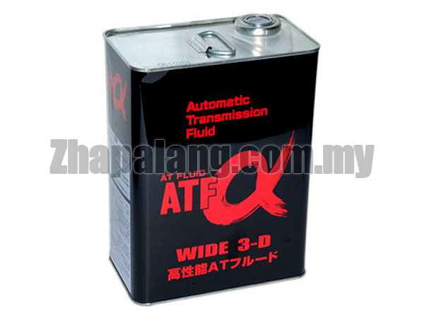 Sumico ATF-α WIDE 3-D Multi-Vehicle Synthetic AT/CVT Fluid 4L
