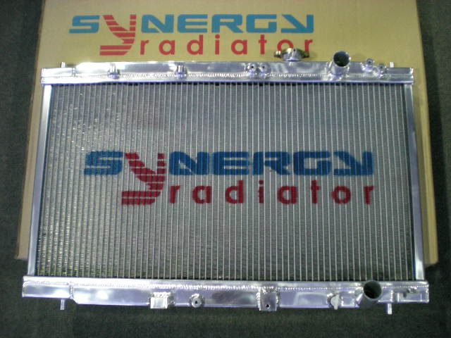 Synergy Aluminum Radiator Nissan SKYLINE GTR R34 RB26 00' AT RA AA40 (SY)
