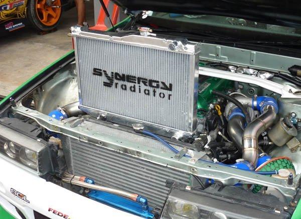 Synergy Aluminum Radiator Mazda  RX8 03\' AT RA AA40 (SY) - Image 3