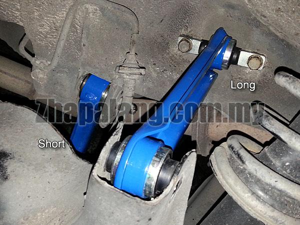 TE Rear Control Arm Link(Short) Proton Wira/Waja