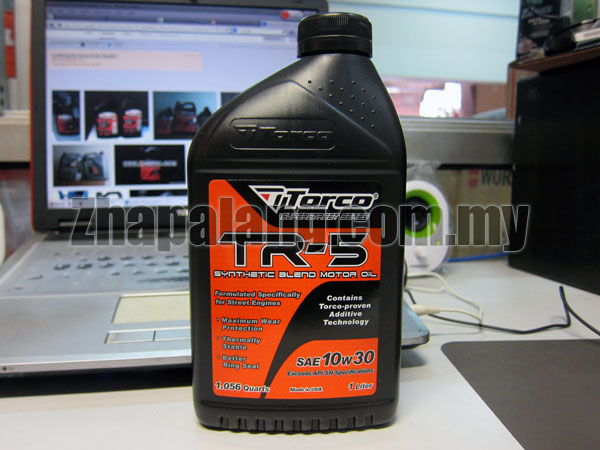 Torco TR-5 10w30 Semi Synthetic Oil 1L