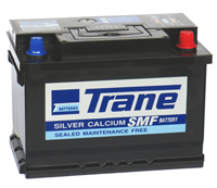 Trane Silver Calcium SMF Battery DIN75