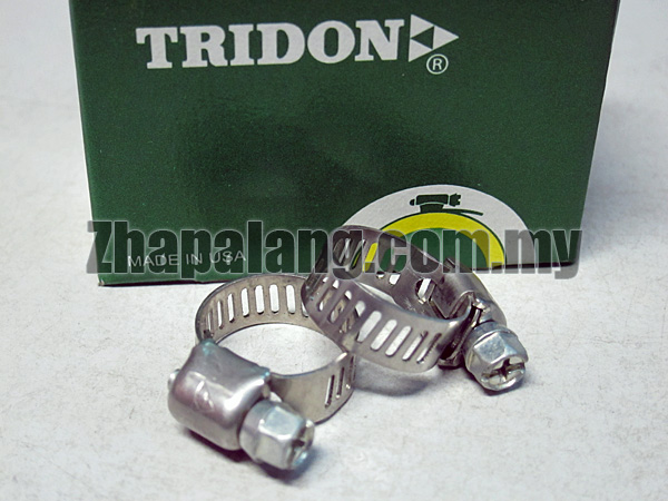 Tridon Perforated Band Clamps, Part Stainless Steel 6 - 16(mm)