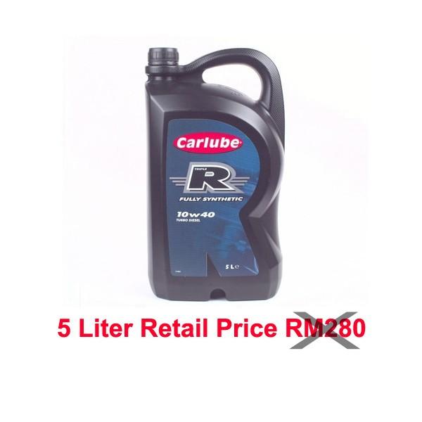 Carlube Triple R 10w40 Fully Synthetic Diesel 1L