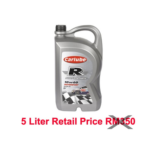 Carlube TRIPLE R 10W60 FULLY SYNTHETIC MOTORSPORT 1L
