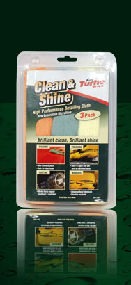 Turtle Wax T-135 Microfiber Clean & Shine 3pk