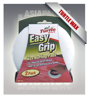 Turtle Wax TW-155 Easy Grip Buffing Pads 2pk