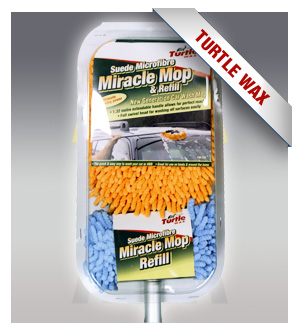 Turtle Wax TW-121 Microfiber Miracle Mop & Refill