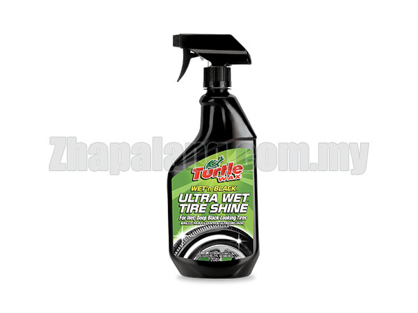 Turtle Wax T-217 Wet'n Black Ultra Wet Tire Shine 680ml
