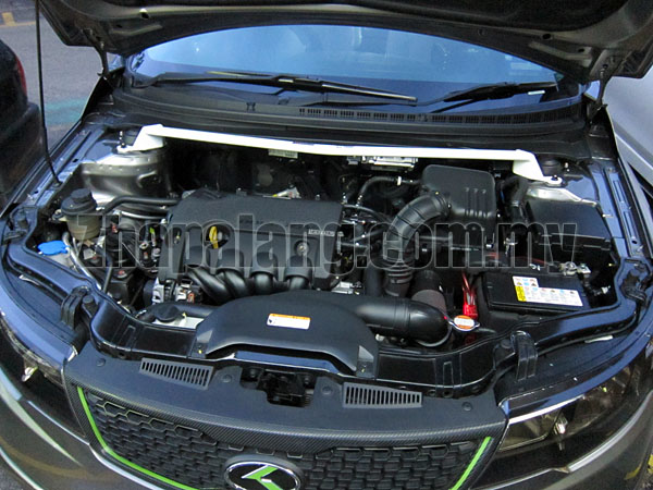 Kia Forte Front Strut Bar / Front Tower Bar 2pt