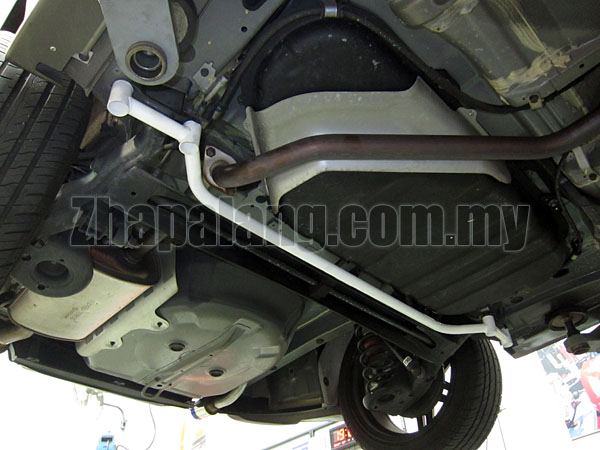 Kia Forte Rear Lower Bar / Rear Member Brace 4pt