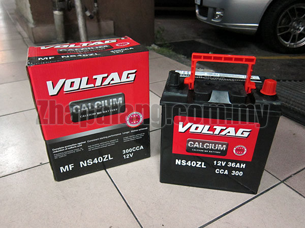 Voltag Calcium MF Battery NS40ZL