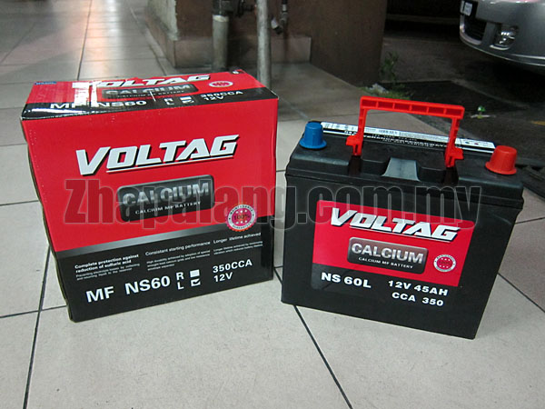Voltag Calcium MF Battery NS60L