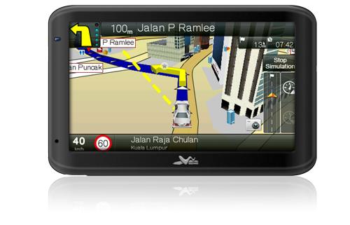 "WayWay Q4035 4.3"" GPS Navigator"