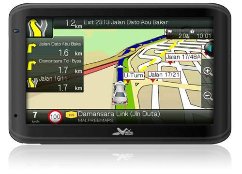 "WayWay Q5035 5"" GPS Navigator"