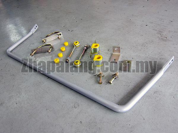 Whiteline Rear Adjustable Sway bar - 24mm FORD FIESTA WS MK6, MK7 (1/09-ON)