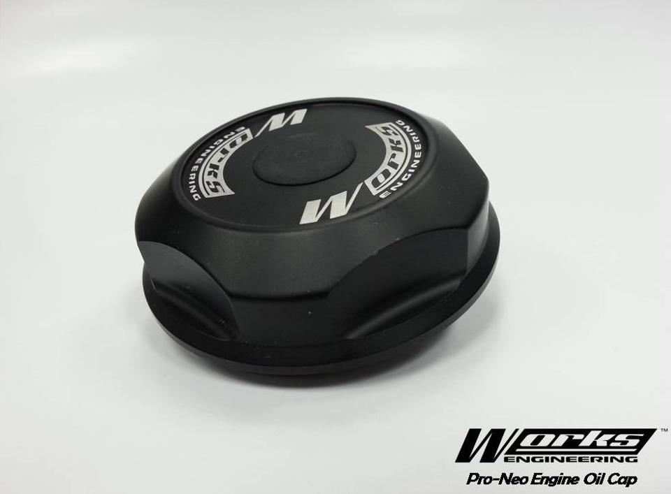 Works Engineering Pro-Series Billet Engine Oil Cap for Campro