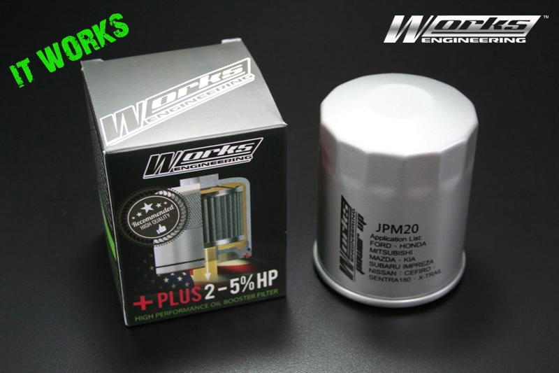 Works Oil Booster Filter JPM20