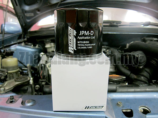 Works Oil Booster Filter JPM-D for Mitsubishi Triton / Pajero Sport 2.5 Diesel