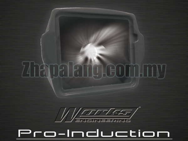 Work-Engineering Pro-Induction Box 3.5 Inch Inlet(Black) - Image 3