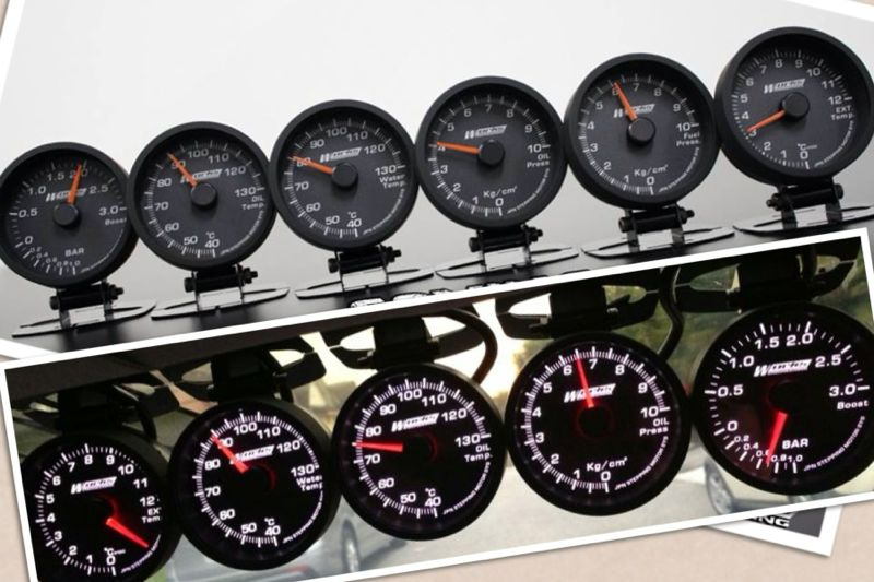 Works Engineering 60mm PRO Gauge - Boost 3 Bar