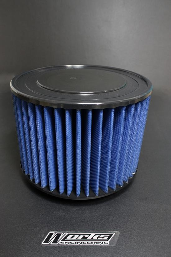 Works Engineering Replacement Filter Toyota Hilux 2.5/ 3.0/ Innova 2.0(Round Type)