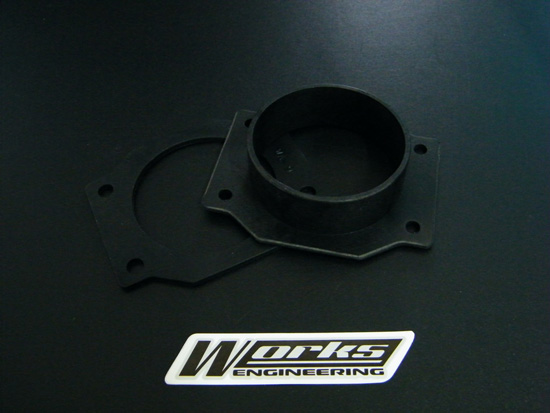 Works Filter Adaptor PVC (Nissan)