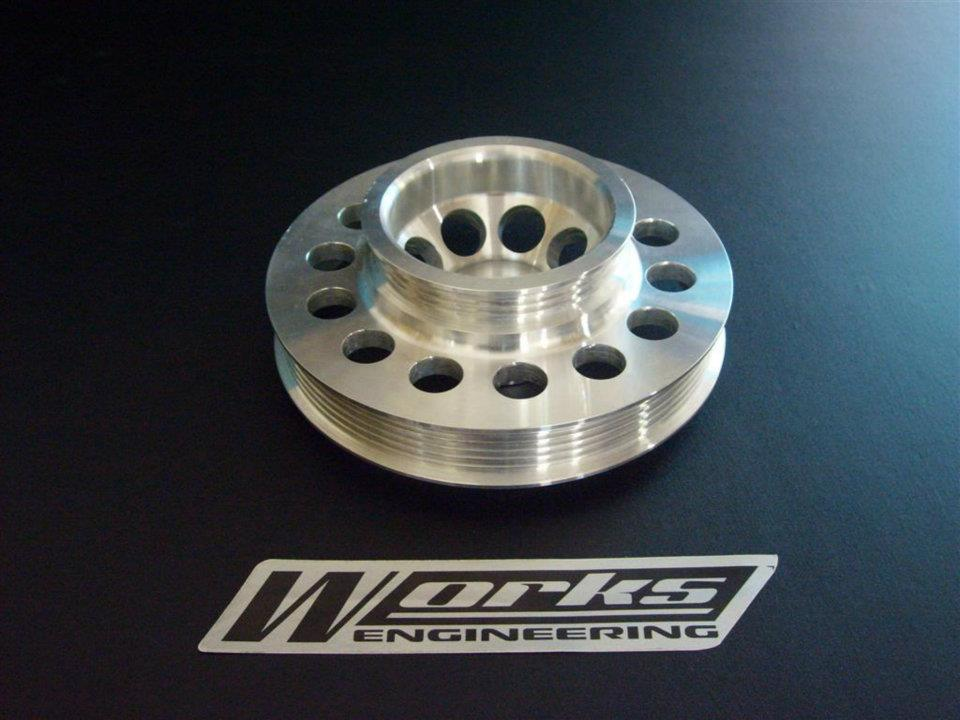 Works Honda DC5 Crank Pulley