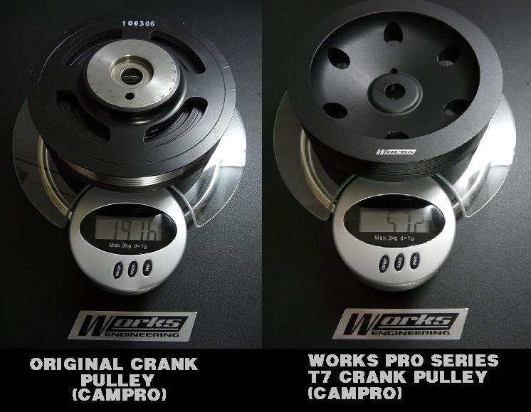 Works Honda Civic FD1.8 '06-ON Crank Pulley