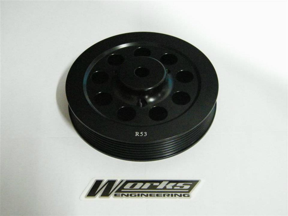 Works Mini Cooper R53 Supercharger Crank Pulley