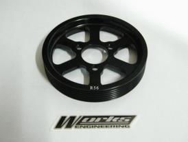 Works Mini Cooper R56 Turbo Crank Pulley
