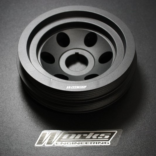 Works Mitsubishi 4G93 Crank Pulley