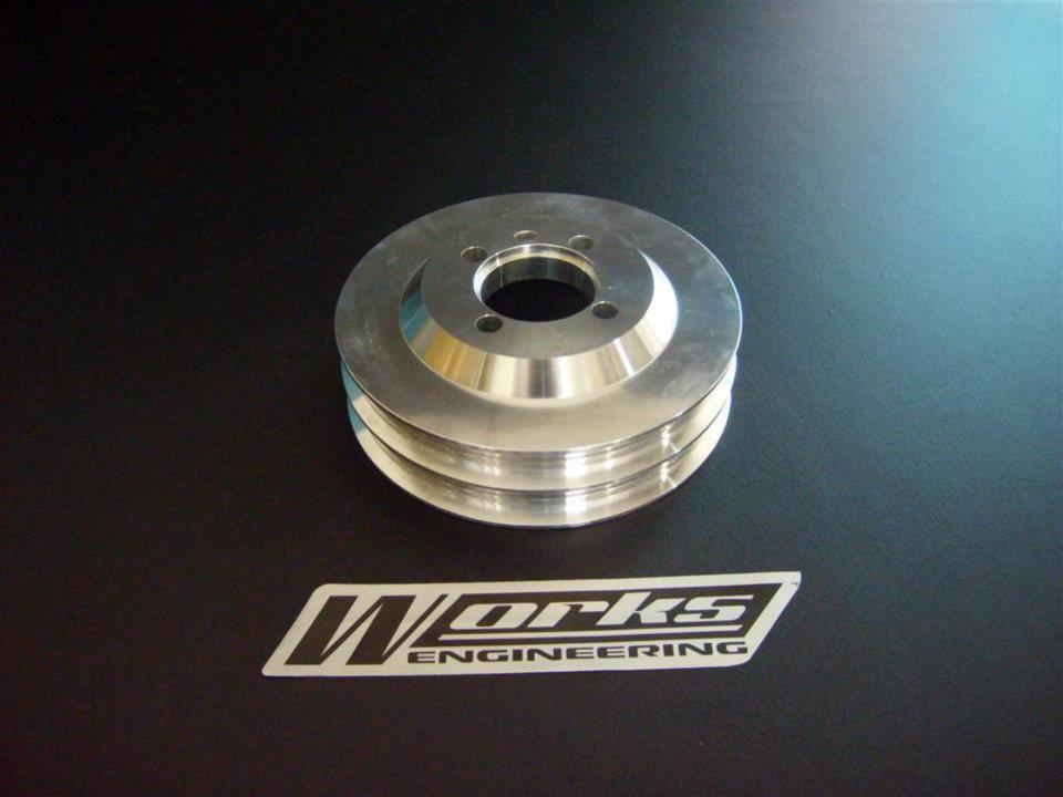 Works Mitsubishi Evo 1-3 / VR4 Crank Pulley(2)