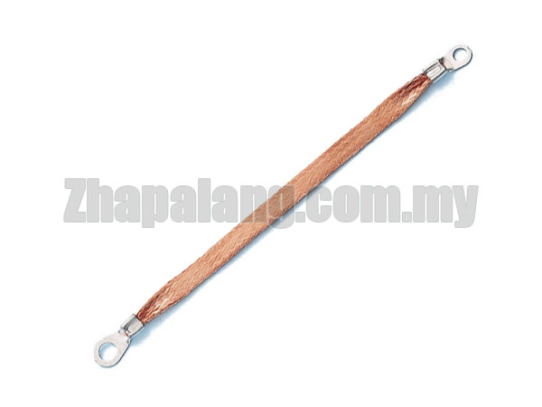 Copper Wurth Bare Copper Flexible Braid Ground Strap