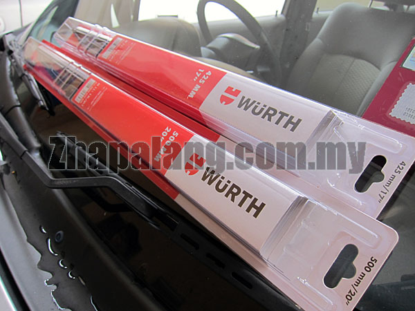 Wurth Premium Wiper Blade 14""