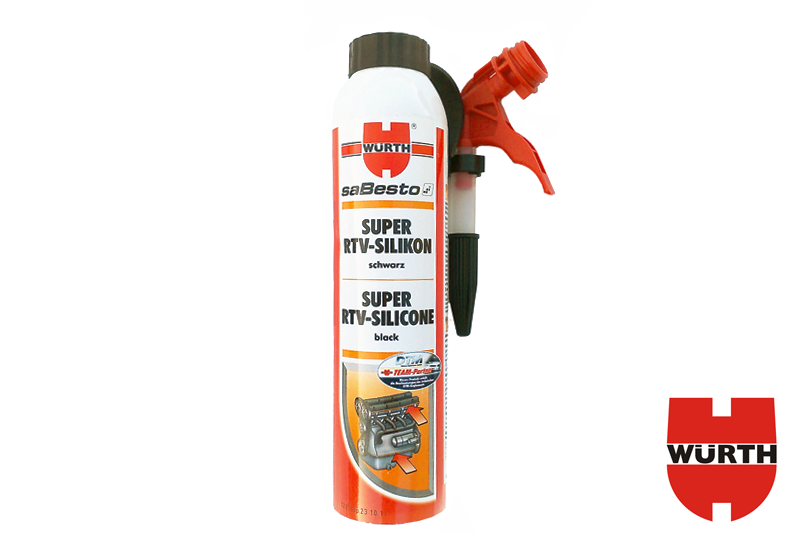Wurth Super RTV Silicone BLACK 200ml