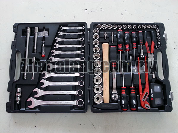 Wurth Universal Tool Set 91 Piece 096593120
