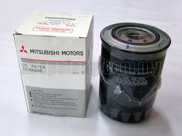 Original Mitsubishi Triton/L200 2.8/3.2 Oil Filter 1230A046